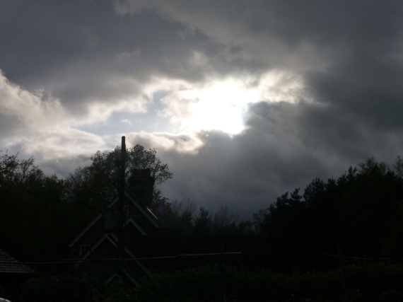 Sun following a storm